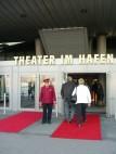 Theater am Hafen: Der Eingang zum Theater
