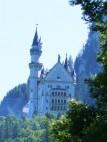 Schloss Neuschwanstein: Der klassische Fotopunkt vom Besucherplatz aus.