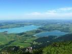 Forggensee und rechts der Bannwaldsee